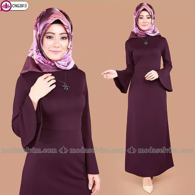 Buyuk Beden Sikligi Yildiz Kolyeli Tesettur Elbise 59 90 Tl Siparis Www Modaselvim Com Urun Kodu Cng2813 Beden Araligi 38 60 Fashion Hijab