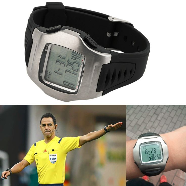 Multifunction Watches Soccer Referee Watches Stopwatch Timer Chronograph Countdown Football Club Watch