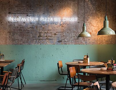 find this pin and more on par char quirky pizza shop interior design