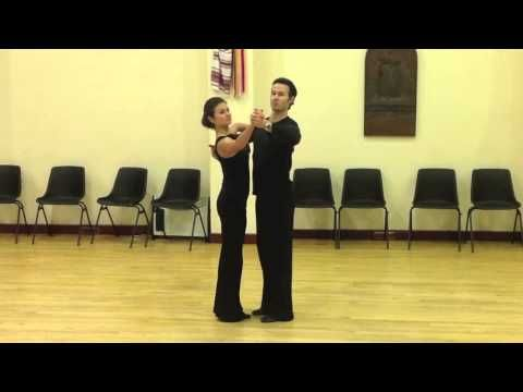 Slow Waltz Intermediate Silver Routine - Inspiration 2 Dance London - YouTube