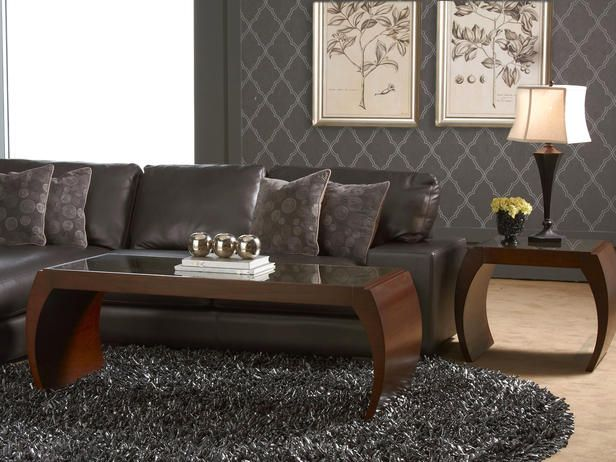 Eclectic Rugs Masculine Living