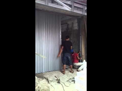 Jual pintu harmonika termurah 081322298892 - YouTube