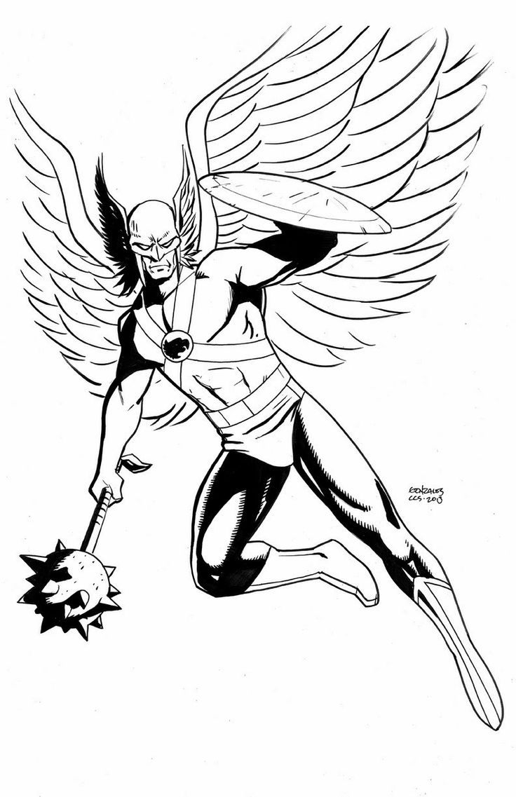 225 best dc hawkgirl and hawkman to colour images on pinterest