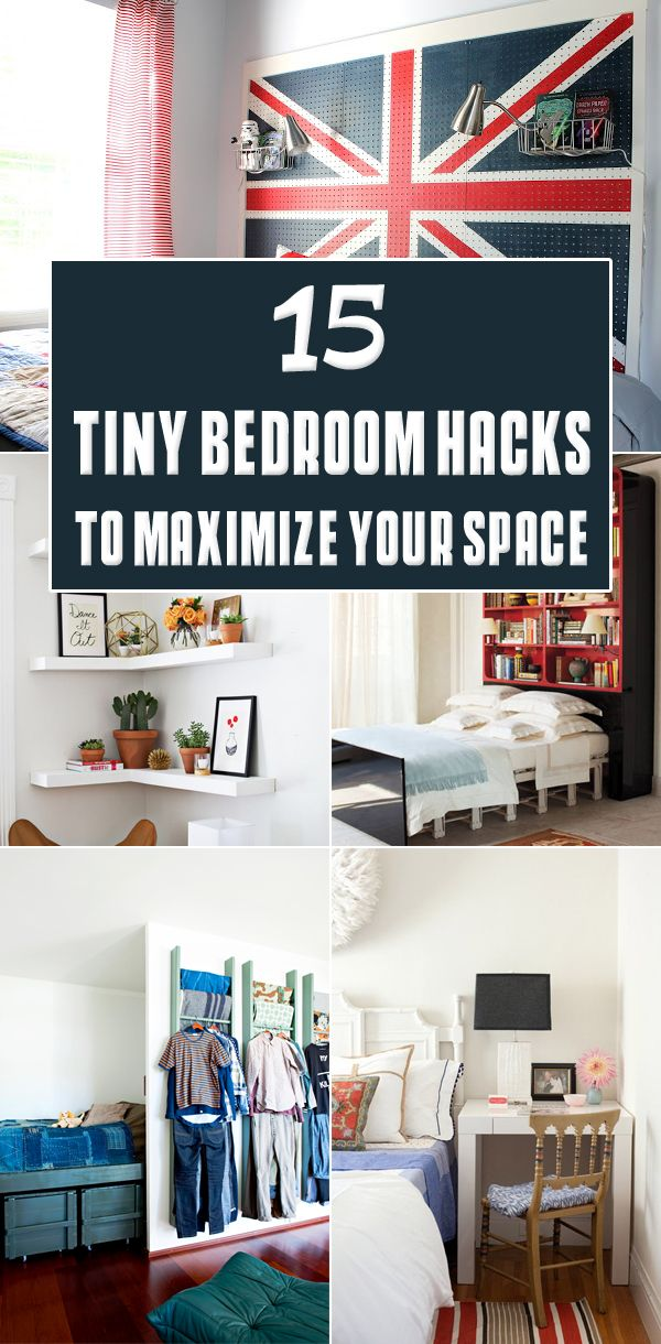 15 Tiny Bedroom Hacks To Maximize Your Space