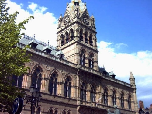 Chester town hall. Enquire for prices.