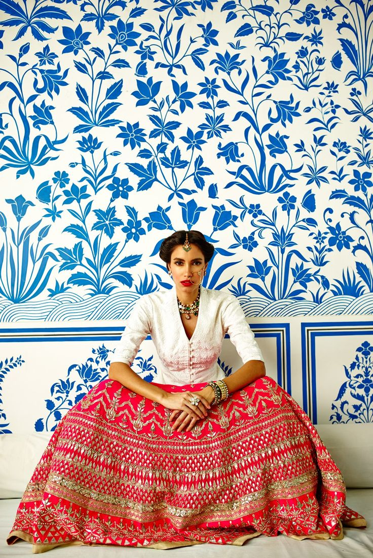 <p>A reflection of potency and passion, this meticulous gota patti embellished hot pink Lehenga is a masterpiece. The intricate resham work on this elegant white bandi creates the drama and is a beautiful contrast.</p><p><strong>Disclaimer</strong><span>- We require 3-6 weeks for the dispatch, as the product is customised.</span></p>