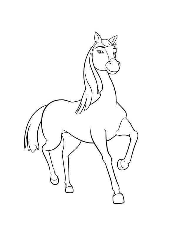 15 Printable Spirit Riding Free Coloring Pages Horse Coloring