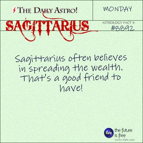 Sagittarius Daily Astro!: Want to learn how to read your birth chart?  Visit iFate.com today!