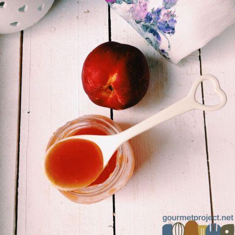 Peach Thyme Syrup- Lemonade Bar!