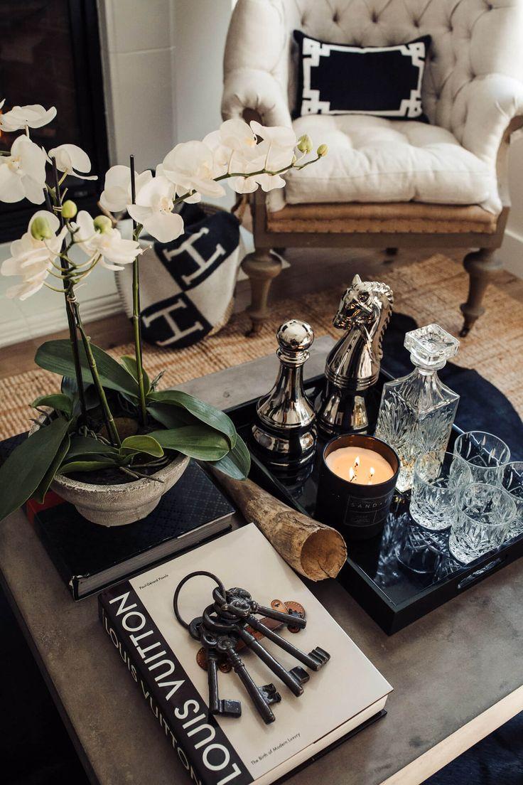 home blogger mia mia mine's coffee table decor Coffee