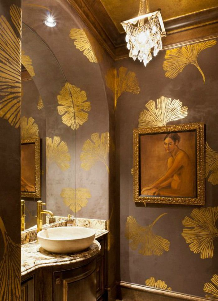 Bold Amp Beautiful Powder Rooms Connecticut In Style