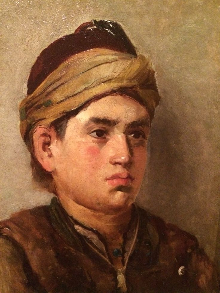 Zeybek Portesi Portrait of A Zeybek Osman Hamdi Bey