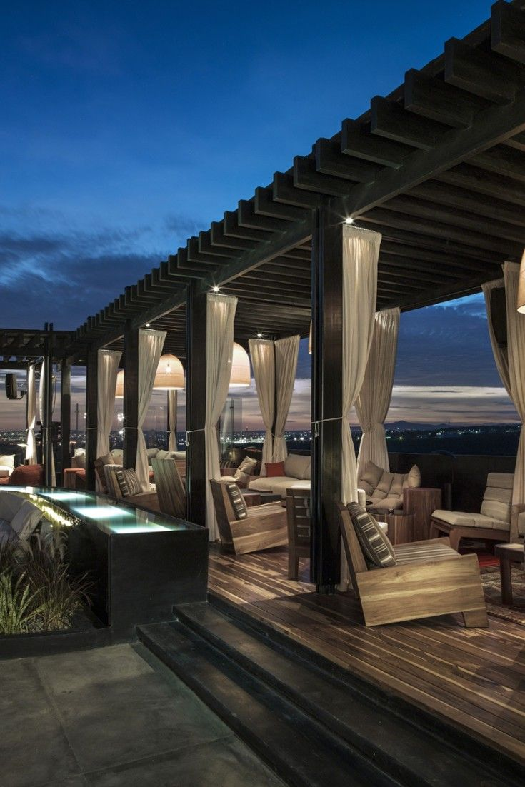 End the night dancing to music at the trendy rooftop bar. #Jetsetter