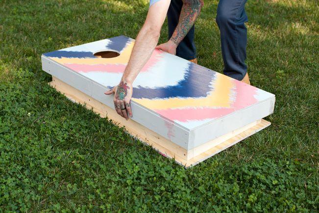 Diy Nesting Cornhole Boards Crafty Projects Pinterest