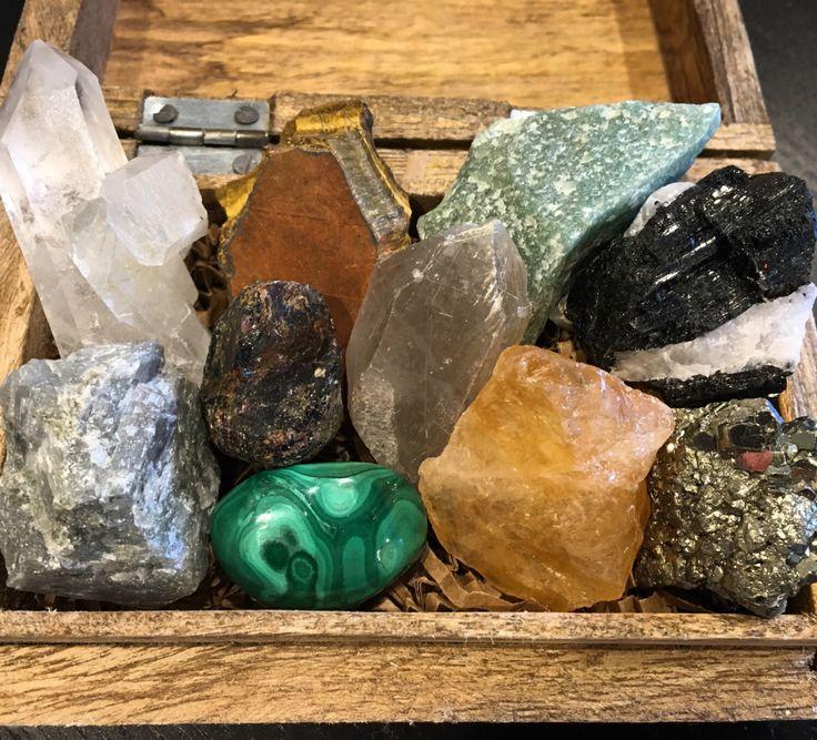Good Luck and Abundance Crystal Set - healing crystals and stones set - gift