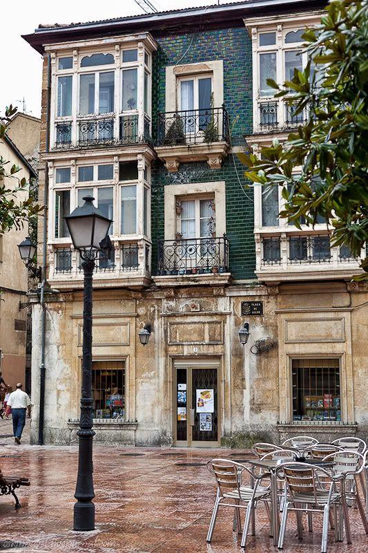 Plaza Riego, Oviedo,Spain