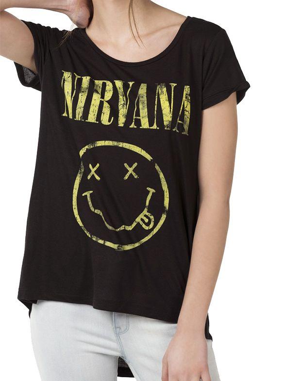 Nirvana T-shirt from Ardene