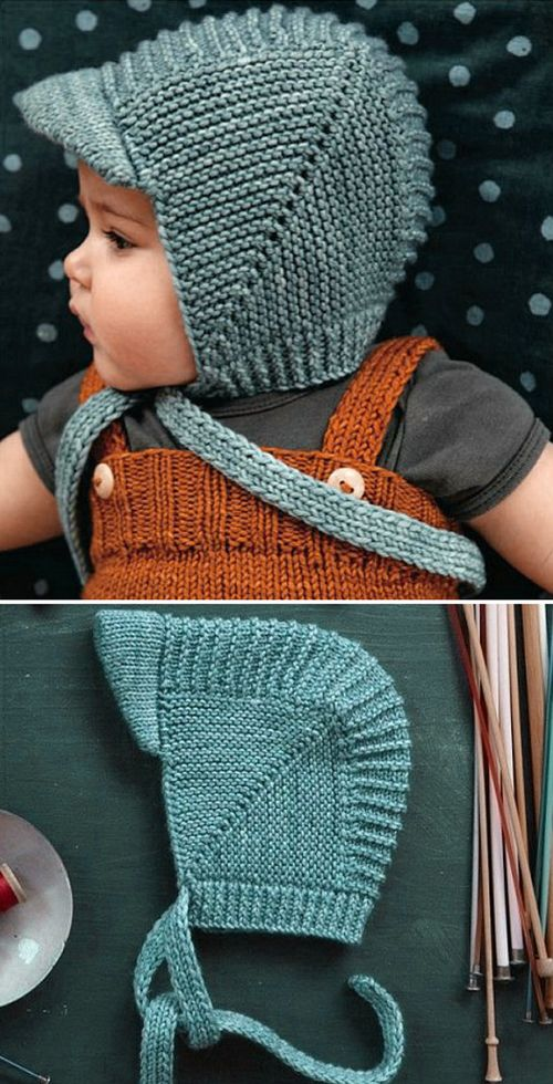 Vintage Baby Bonnet With Visor – Tutorial