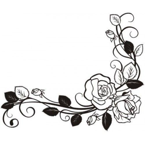 радость цветы черно белые картинки на открытку же