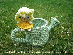 Daffodil Spring Fairy Amigurumi Crochet Pattern : 17 Best images about Amigurumi on Pinterest Free pattern ...