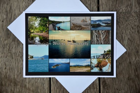 Photo Gift Card & Print. Images of Airlie Beach and surrounds - heart of the Great Barrier Reef  by JenWatsonPhotography, $4.00