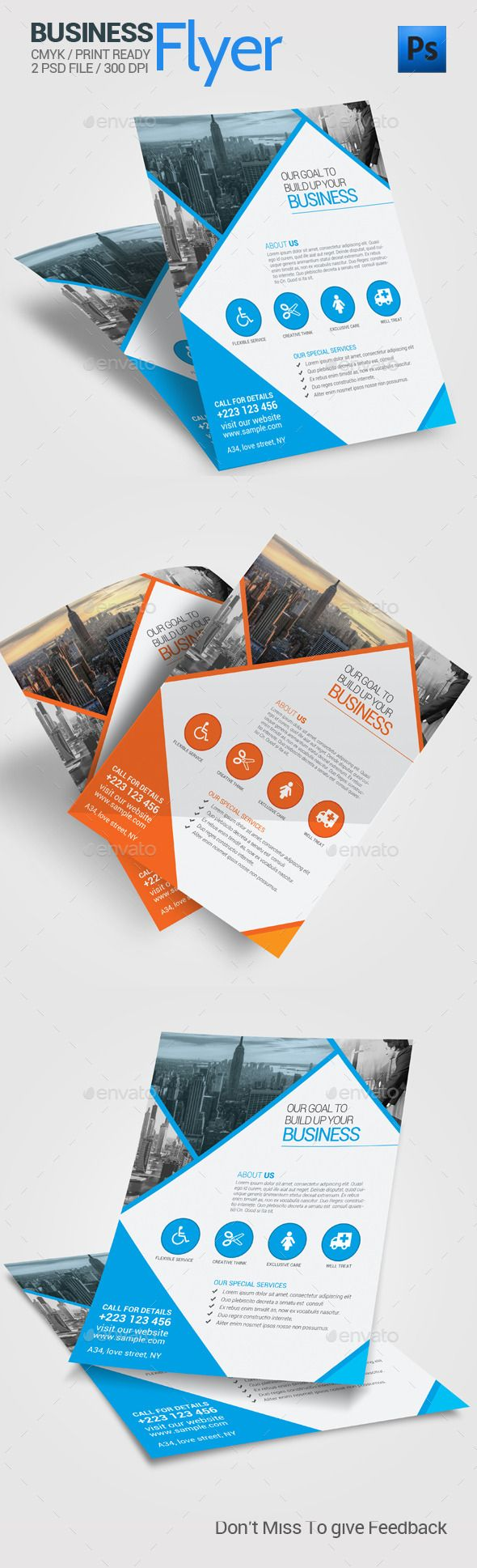 For Jon McDonald Deluxe Cabin RentalsCorporate Business Flyer