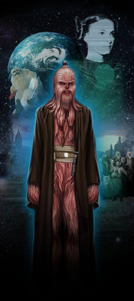 Je viens tout juste de visiter STAR WARS Identites : L'Exposition. Fais connaissance avec mon Héros Star Wars,  Leia, une Wookiee chevalière Jedi de Naboo!