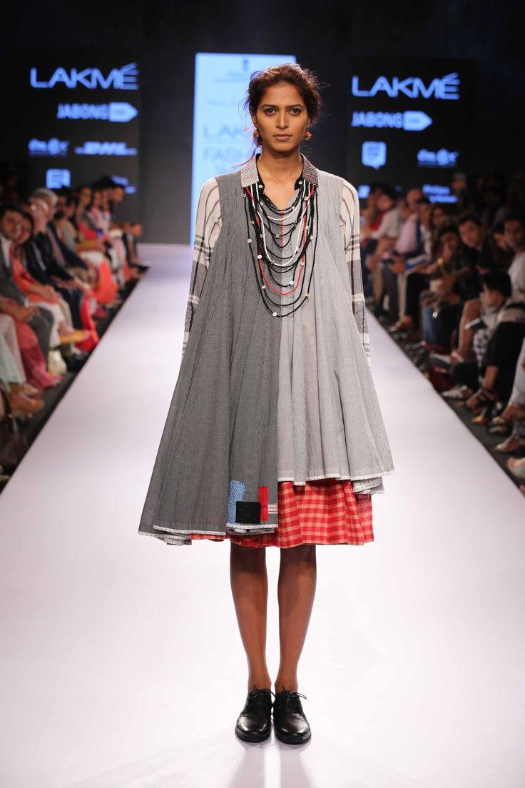 Lakmé Fashion Week – MAYANK ANAND SHRADDHA NIGAM AT LFW SR 2015 #boho #chic #dress