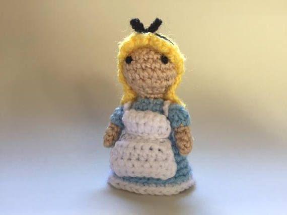 Alice in Wonderland Crochet DollHandmade Crochet DollMini