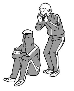 白根ゆたんぽ : 五十嵐貴久「ダッシュ」 | 作品 | 東京イラストレーターズソサエティ (TIS)