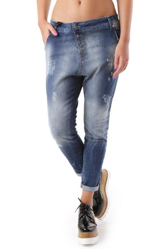 Jeans Donna Sexy Woman (VI-J2936) colore Blu
