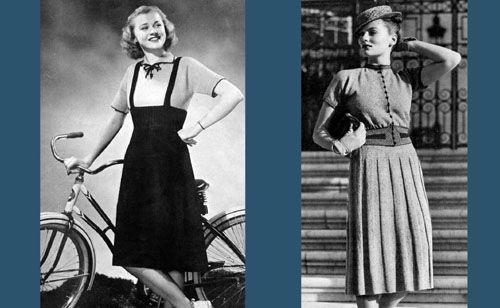 1000 ideas about 1938 fashion on fur trim