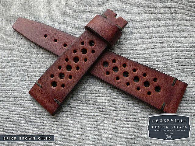 Brick Brown Oiled heuerville strap