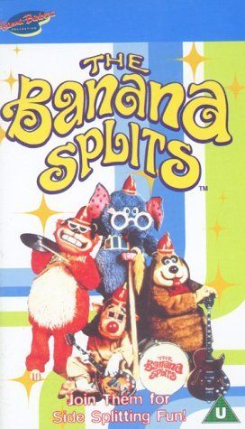 The Banana Splits. I totally forgot about this show! It was goofy.i do remembr the song