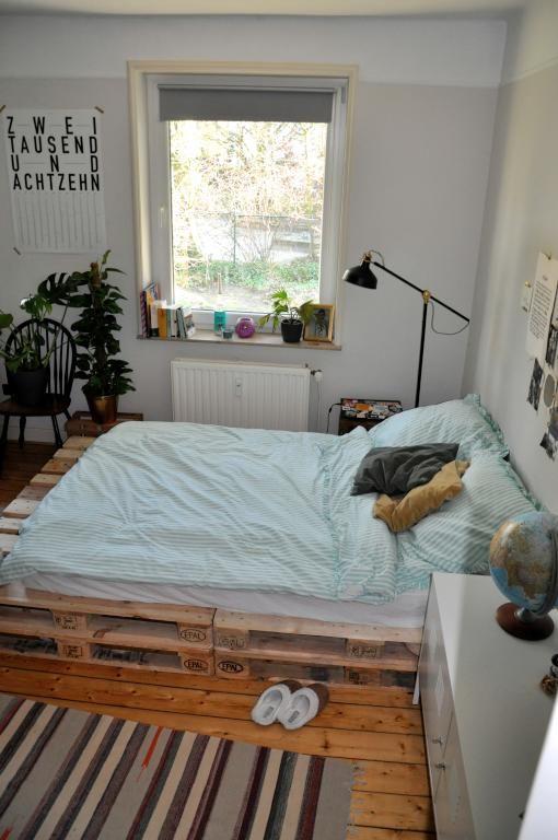 super groes diy bett fr entspannte nchte wgzimmer diy einrichtungsideen - Einrichtungsideen