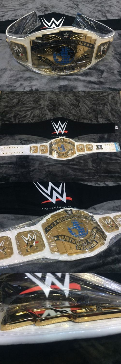 Wrestling 2902: Wwe Intercontinental Championship Belt Wrestling Belt Wwf Title Adult Size Wcw -> BUY IT NOW ONLY: $347.77 on eBay!