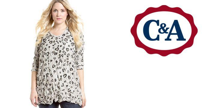 Camiseta en beis talla grande en C&A. AHORRO 48%. 4.90€. #ofertas #descuentos