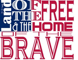 patriotic: Art Free, Patriots Word, Fourth Of July, Girls Crafts, Red White Blue, Crafts Signs, Word Art, 4Th Of July, Free Printables