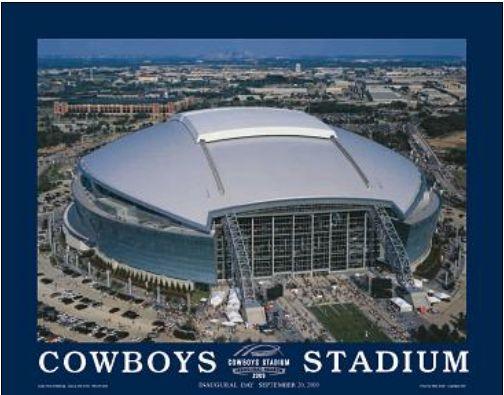 dallas cowboy stadium pictures | 2013 dallas cowboys at t cowboys stadium signature collection poster