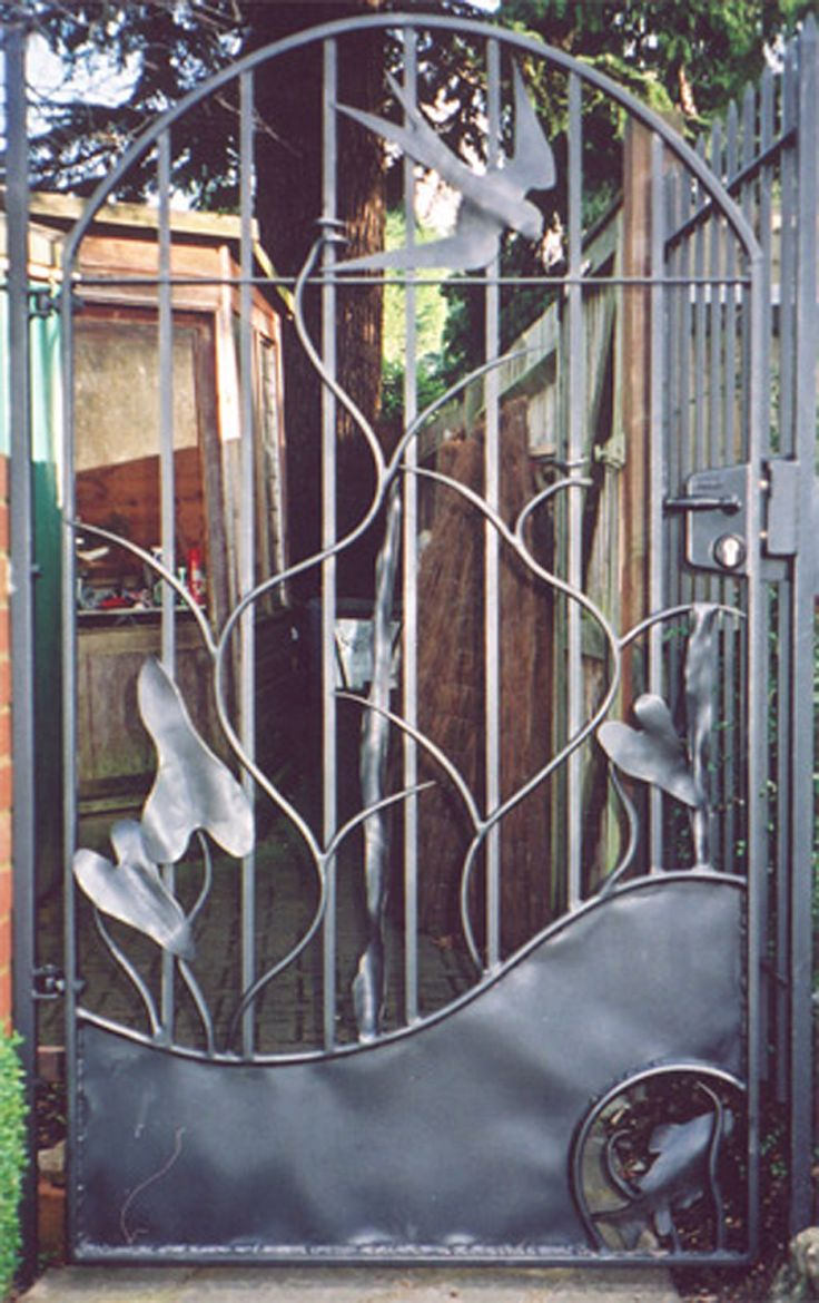 135 best gates images on Pinterest Metal gates Garden gate and