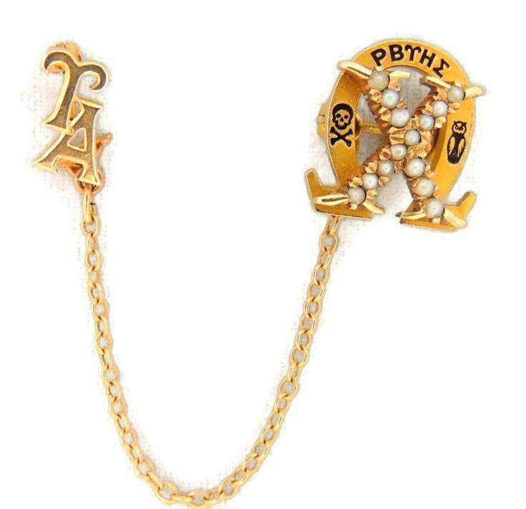 Gamma Phi Beta Ring Badge