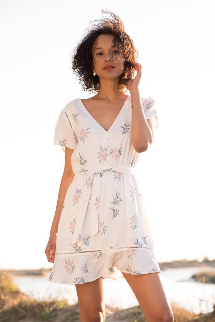 4a033c77d73f Phoenix Dress - White Lotus Blossom