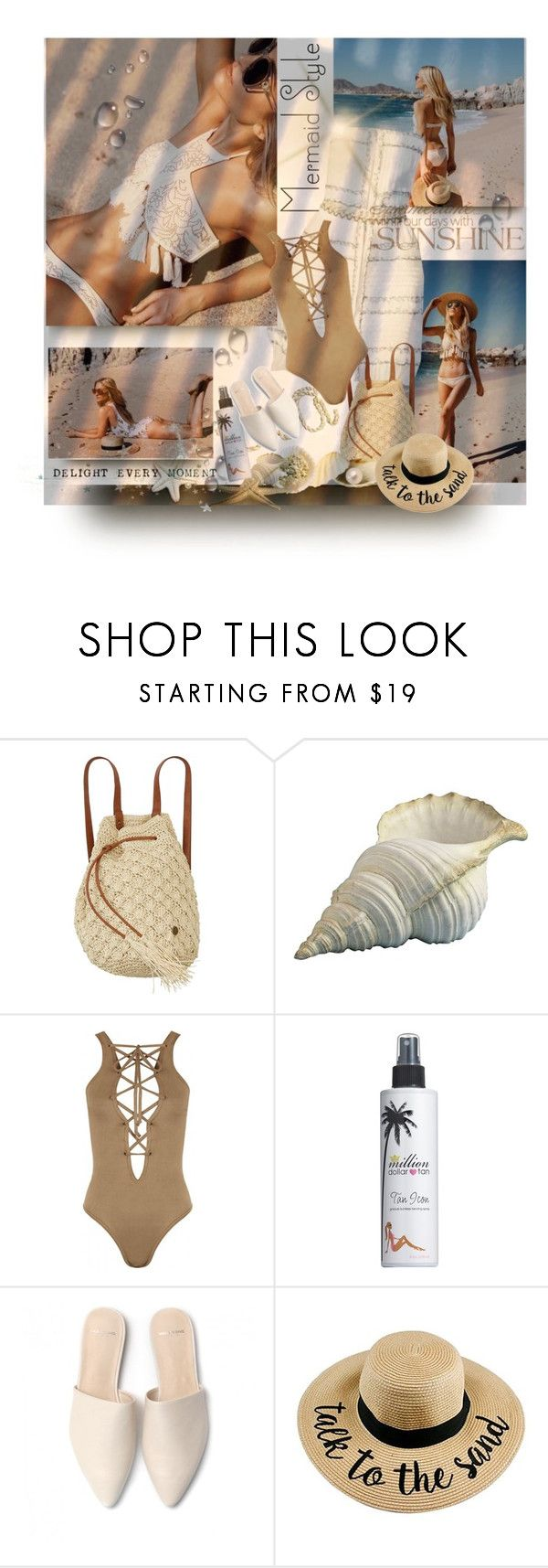 """Senza titolo #1899"" by barbara-gennari ❤ liked on Polyvore featuring Chanel, Billabong, WearAll and Million Dollar Tan"