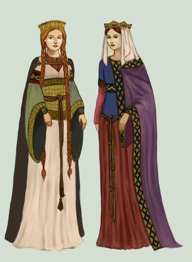 an examination of clothing in the middle ages The middle ages (also called the medieval period) was a period of time that lasted about a thousand years from the 5th to the 15th centuries it is often subdivided into three periods with the first being the early middle ages, the second labeled as the high middle ages, and the third and final called the late middle ages.