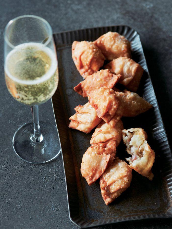 パリッとクリスピーな食感にクリーミーな味が◎!|『ELLE a table』はおしゃれで簡単なレシピが満載!