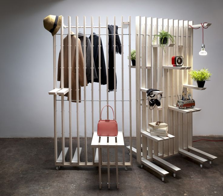 Plug System Shelving Divider by estudio ji made in Spain on CrowdyHouse