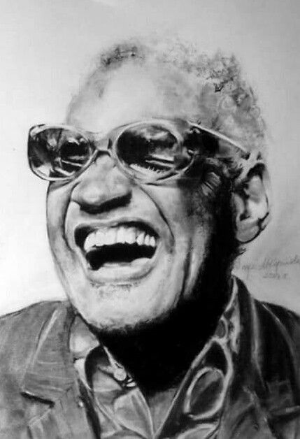 Ray Charles-A4,węgiel