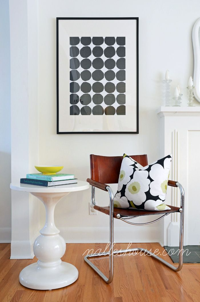 It may not be conventional, but this DIY art may fit directly into your home...