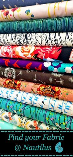 Pages and pages of fabric for you! Visit us at nautilusfabrics.com