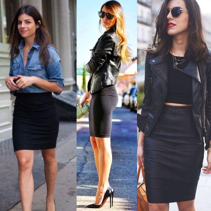 Chic e super elegante!!! Saia Lápis Preta ❤️ R$ 49,00  http://www.theblendshop.com.br/Saia-Lapis-Preta#.VS6oxYm9LCQ